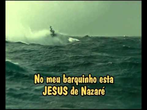 Musica meu Barquinho Editado com Lindo Video de Um barco em Mar revolto.mpg
