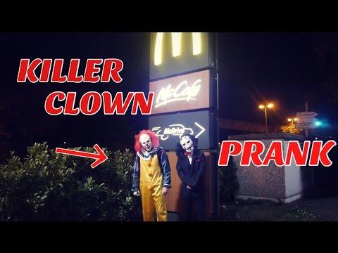 KILLER CLOWN PRANK an McDONALD's 😱😱