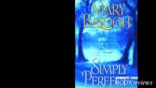 Author Mary Balogh on SIMPLY PERFECT