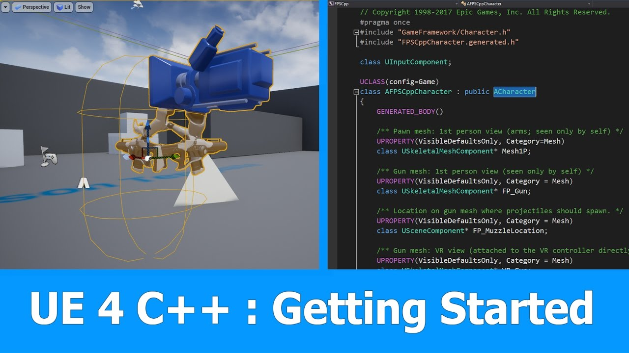 UE4 C++ beginner tutorial