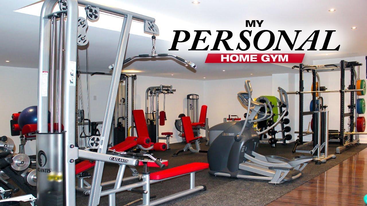 K personal home gym take a tour youtube