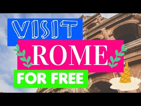 10 ways to enjoy Rome on a Budget ✩ Part 1
