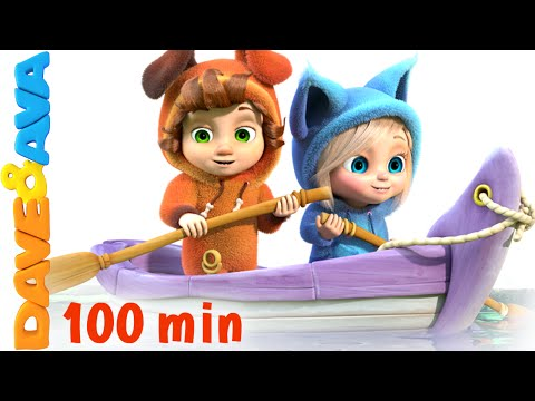 Row Row Row Your Boat | Nursery Rhymes Collection and Baby S