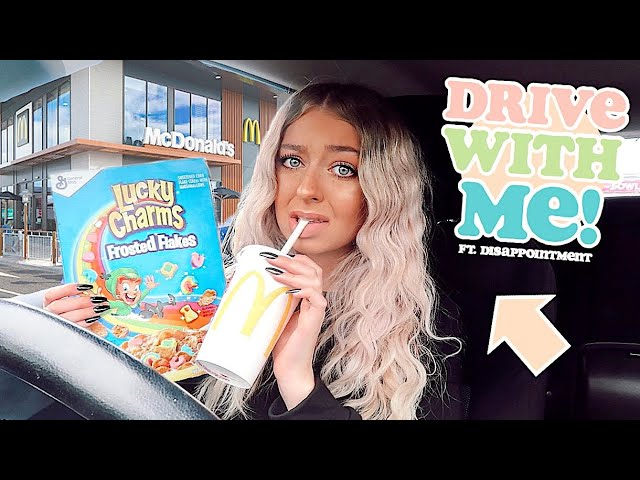 DRIVE WITH ME to try and find my favourite cereal ft. disappointment
