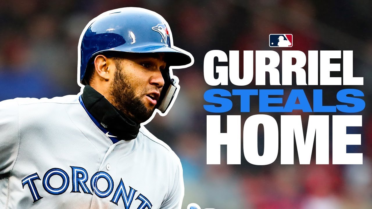 Gurriel steals home against Red Sox!