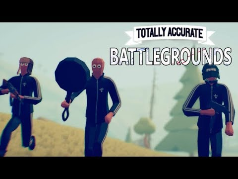 This is the Goofiest Battle Royale Game Ever! (Totally Accurate Battlegrounds)