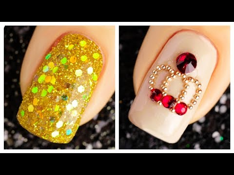 Simple and Cute Nail Art Design 2019 Compilation   New Nails Art Ideas Compilation #8
