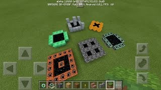How To Make Custom Ender Portals in Minecraft PE | MCPE Journalist