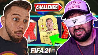 ΤΥΦΛΟ DRAFT CHALLENGE: GEO HUNTER EDITION 😎 | GREEK FIFA 21 ULTIMATE TEAM
