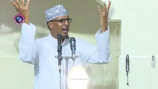 kudbah   dhibaaatoyinka nimcada Alle oo lagu caasiyo   Dr Maxamud Maxamed Shibli