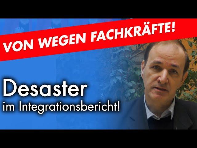 Integrationsbericht: Schönfärberei ohne Ende | Dr. Gottfried Curio