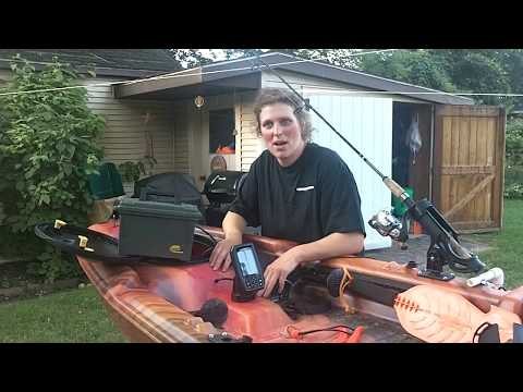 How To Install A Garmin Striker 4 Fish Finder On A Pelican Catch 120