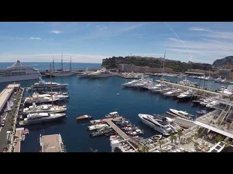 Monaco - Port Hercule - GoPro View