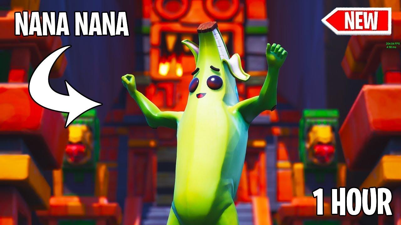 436a178336 *NEW* NANA NANA DANCE EMOTE (PEANUT BUTTER JELLY TIME) WITH PEELY THE  BANANA! 1 HOUR