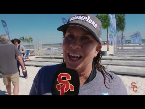USC Beach Volleyball - 2017 NCAA Champions Rapid Reaction