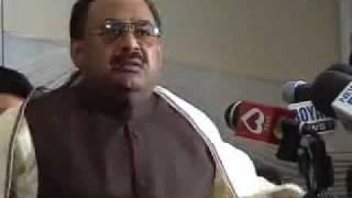 Altaf Hussain trying to act like a Punjabi film hero