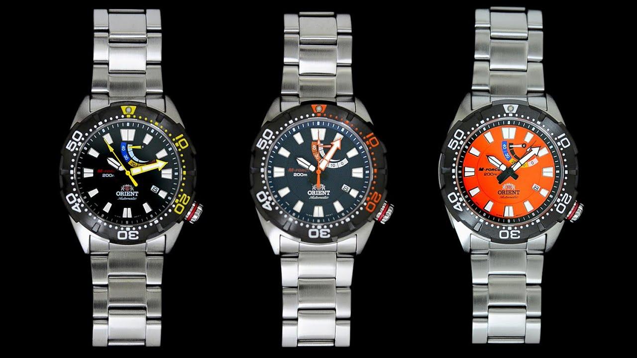 Orient M-Force Bravo Automatic Sport Men's Dive Watch