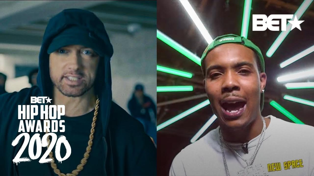 Eminem Rips Donald Trump PLUS G Herbo, BlocBoy JB & More Spit Fire In Past Hip Hop Awards Cypher