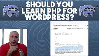 Should you Learn PHP for Wordpress?