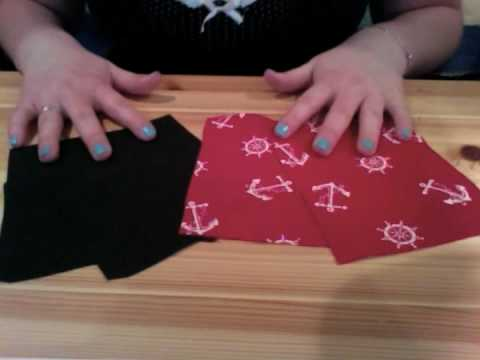Lined Zippered Pouch Sewing Tutorial