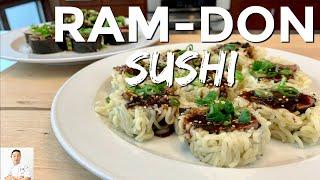 Ram-Don Sushi Roll (Parasite Movie)