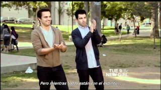 New Girl 1x07 - Bells Promo SUB (HD)