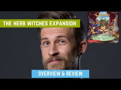 The Herb Witches Expansion - Quacks Of Quedlinburg