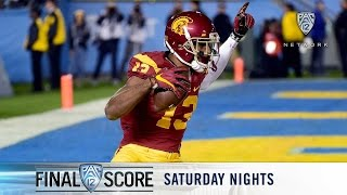 Highlights: USC football stays alive in the South with win over UCLA