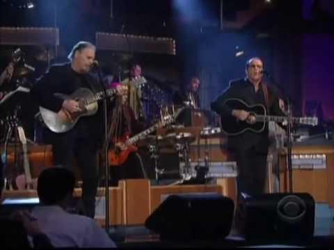 Tom Russell on Letterman 10/02/09