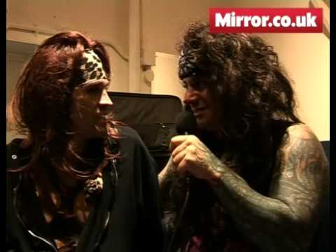 Mirror.co.uk meets Steel Panther