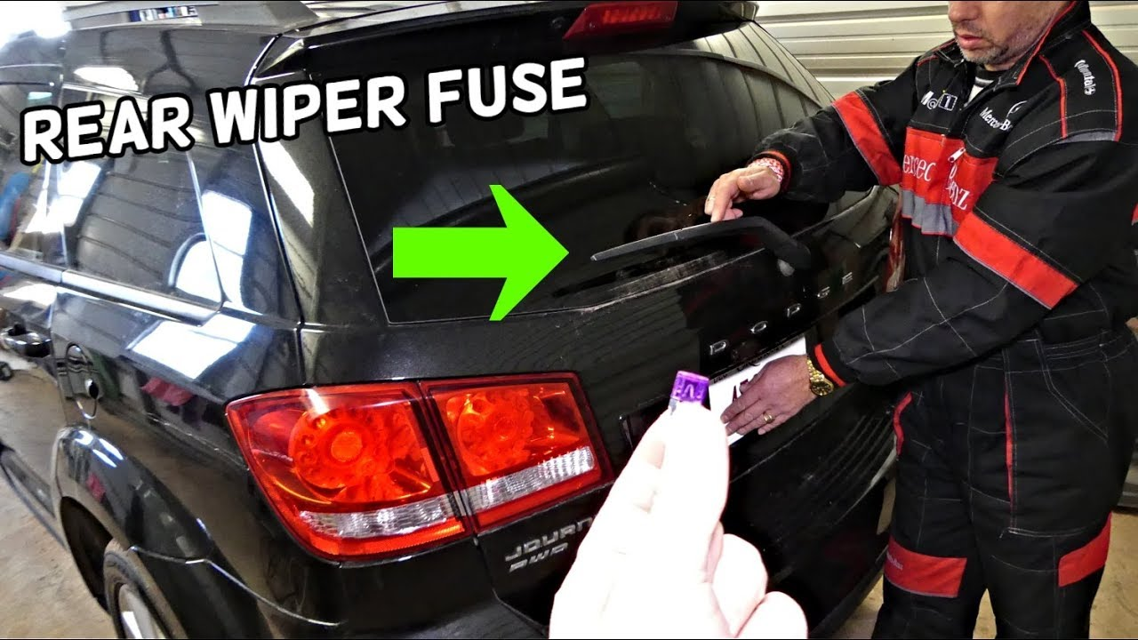 dodge journey rear window wiper not working fuse location replacement fiat  freemont - youtube  youtube