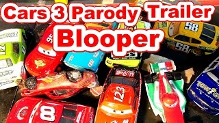 Pixar Cars 3 Official Trailer Parody with BLOOPER with Lightning McQueen