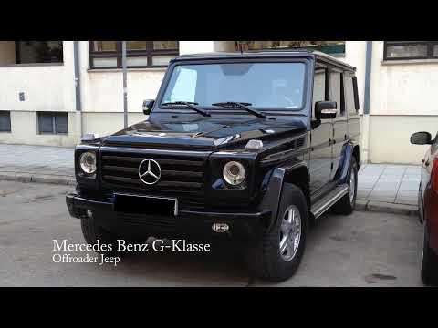 Mercedes Benz G-Klasse Offroader Jeep