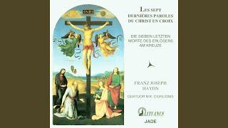 Sonata V: Sitio (I am thirsty) (Adagio; A Minor)