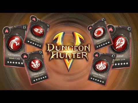 Dungeon Hunter 5 Skill Items (All 6 Fire Skill Items You Find In Dungeons)