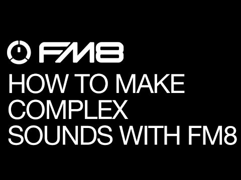 NI FM8- Make Complex Sounds With FM8 Envelopes- How To Tutorial