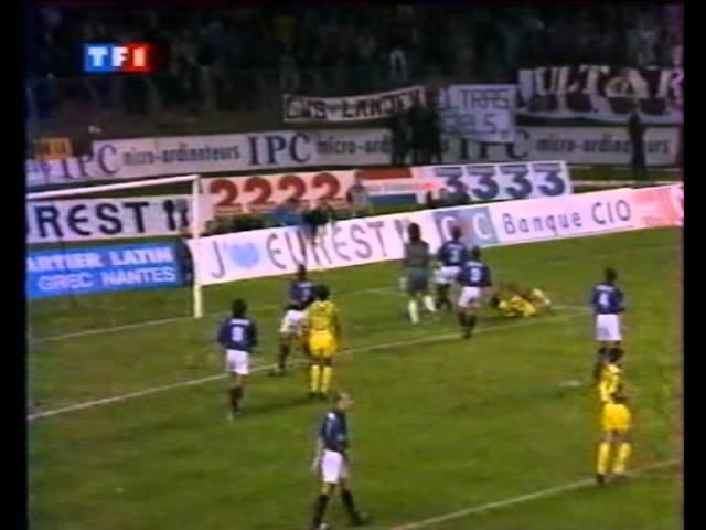 FC Nantes - Girondins de Bordeaux-3-3 - Saison 1994-95