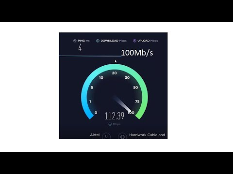 How To Get Hidden 100Mbps Wi-Fi Speed On Airtel Broadband Of Any Plans.