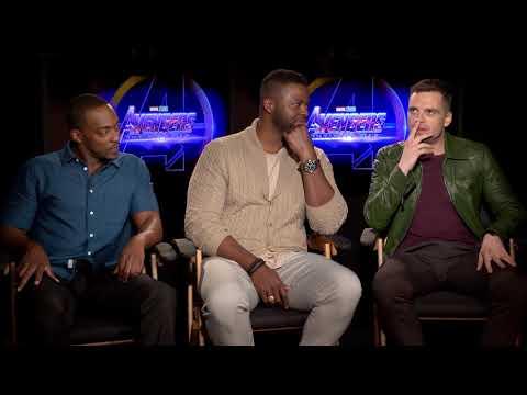 Avengers: Infinity War   Sebastian Stan, Anthony Mackie, and Winston Duke