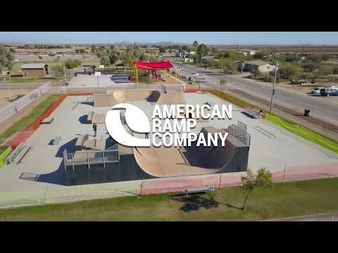 Hohokam Skateboard Park in Maricopa, AZ