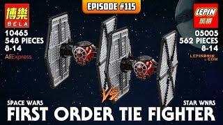 ATN #115 - Lepin 05005 Star Wars Tie Fighter (Lepinbrik.com) VS BELA 10465 Speedbuild/Review