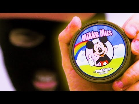 Mikke Mus Sterk Snus (Mickey Mouse Strong Snus) [Commercial]