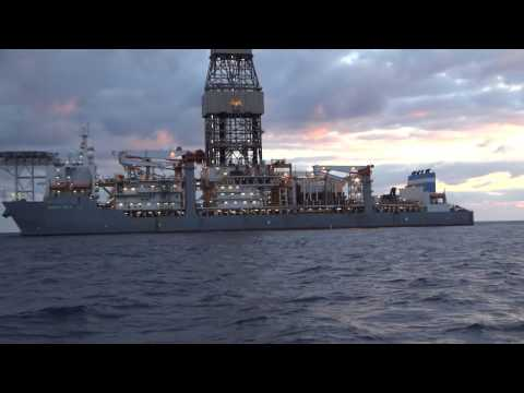 Ensco DS-3 Drill Ship Oil Drilling