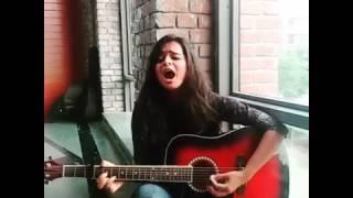 Mere Rashke Qamar   Cover  by female voice