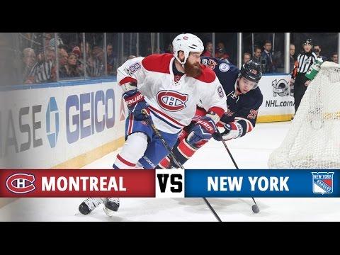 Montreal Canadiens vs New York Rangers | Season Game 66 | Highlights (4/3/17)