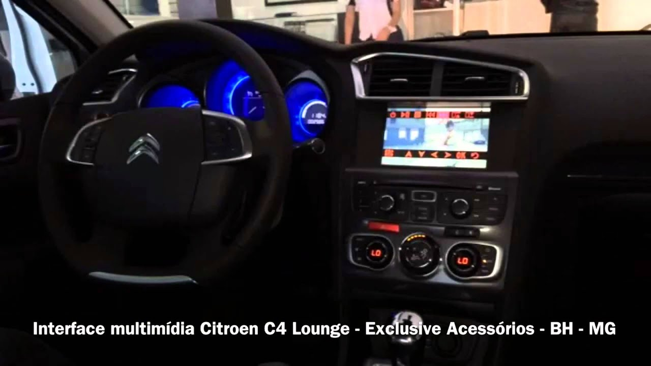 Interface Multim U00eddia Citroen C4 Lounge