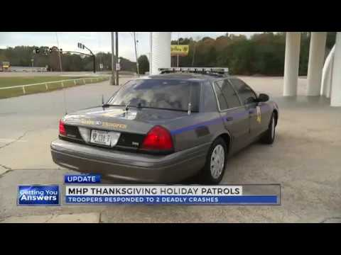 Mississippi Highway Patrol releases 2016 Thanksgiving patrol numbers