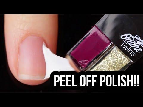 Peel Off Nail Polish Swatches! Little Ondine Holiday Sets    KELLI MARISSA