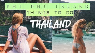 Things To Do Around Phi Phi Island Tour - Thailand Vlog