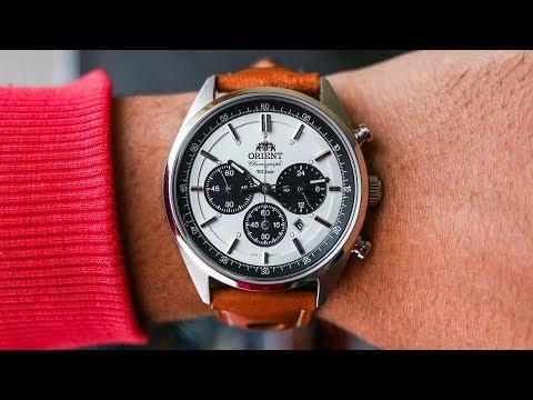 REVIEW Orient Neo70s Panda Chronograph WV0041tx